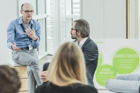 theLivingCore am CX-Forum, Thomas Fundneider, Geschäftsführer von theLivingCore