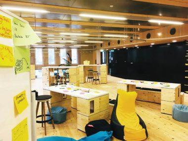 theLivingCore Projekt mit Rhomberg Inkubator
